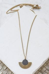 collier Addis gris argenté de Shlomit Ofir