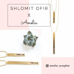 collier Amélia x Shlomit Ofir doré