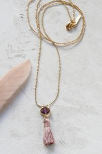 collier Sabina rose doré de Shlomit Ofir