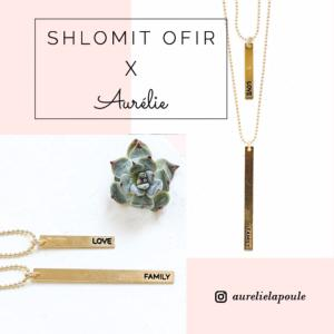 collier Aurélie x Shlomit Ofir doré