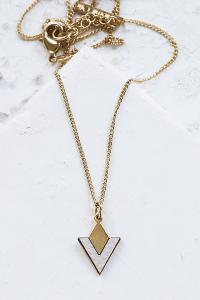collier Arya rose doré de Shlomit Ofir